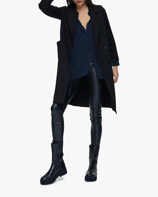 Dorothee Schumacher Sleek Performance Faux Leather Pants 2