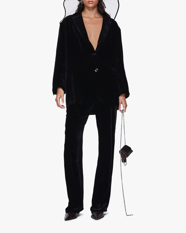 Dorothee Schumacher Velvet Shimmer Trousers 2