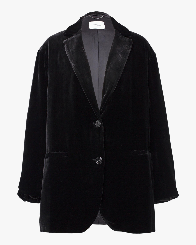 Dorothee Schumacher Velvet Shimmer Jacket 0