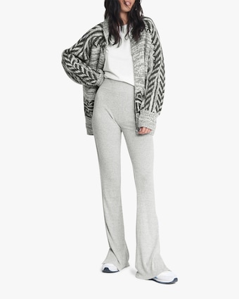 rag & bone The Knit Ribbed Flared Pants 2
