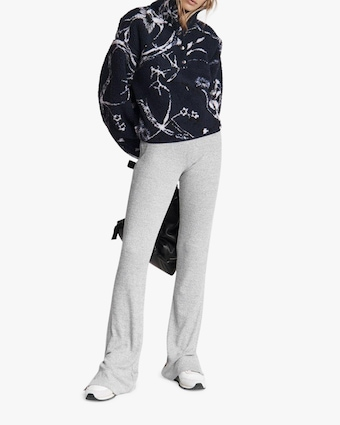 rag & bone Floral Faux-Sherpa Pullover 2