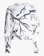 rag & bone All-Over Floral Sweatshirt 0