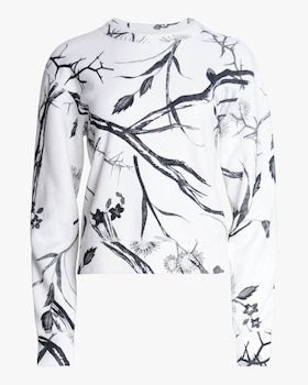 All-Over Floral Sweatshirt