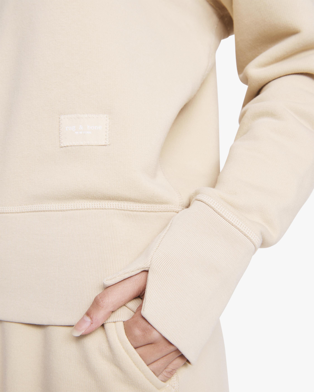 rag & bone The Fleece Sweatshirt 4