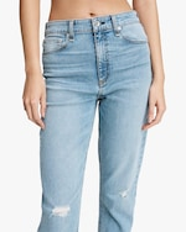 rag & bone Nina High-Rise Ankle Cigarette Jeans 4