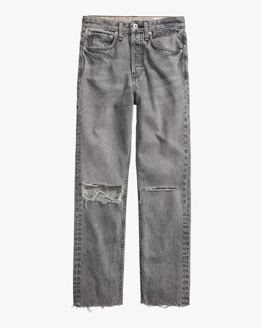 rag & bone Maya High-Rise Ankle Slim Jeans 0