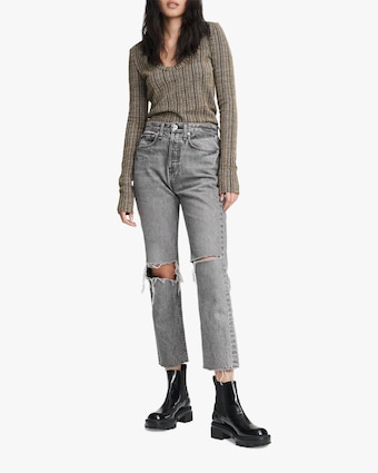 rag & bone Maya High-Rise Ankle Slim Jeans 2