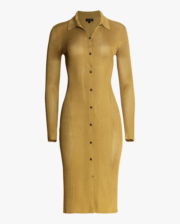 rag & bone Pacey Button-Down Dress 0