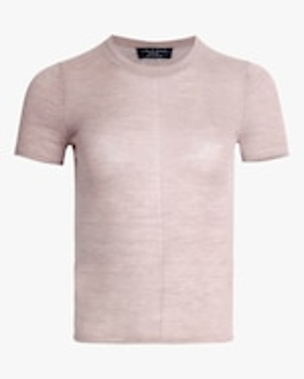 rag & bone Mandee Short-Sleeve Cashmere Tee 0