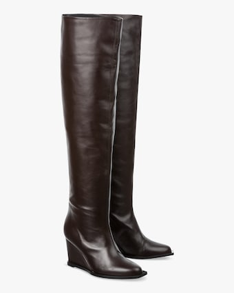 Dorothee Schumacher Sophisticated Chic Wedge Boot 1