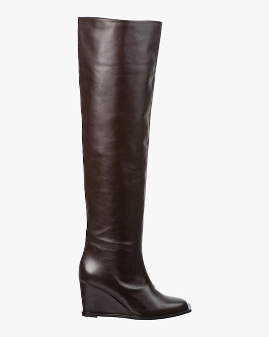 Dorothee Schumacher Sophisticated Chic Wedge Boot 0