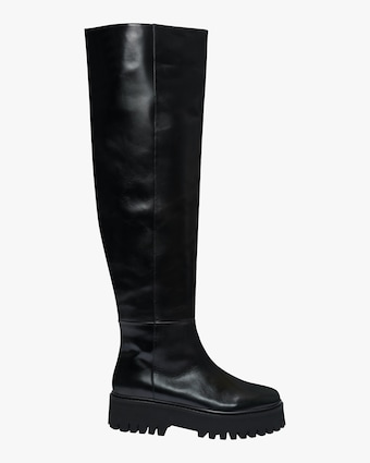 Dorothee Schumacher Modern Coolness Tall Combat Boot 1