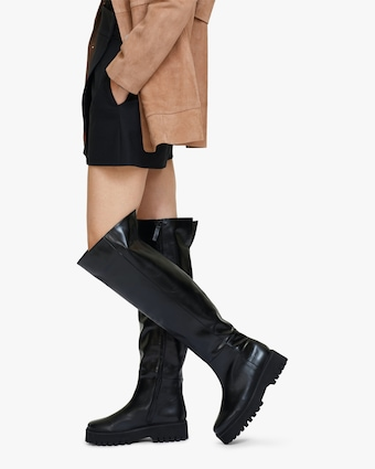 Dorothee Schumacher Modern Coolness Tall Combat Boot 2