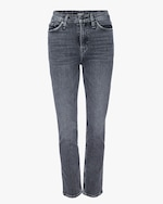 Hudson Holly High-Rise Straight Ankle Jeans 0