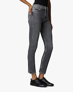 Hudson Holly High-Rise Straight Ankle Jeans 2