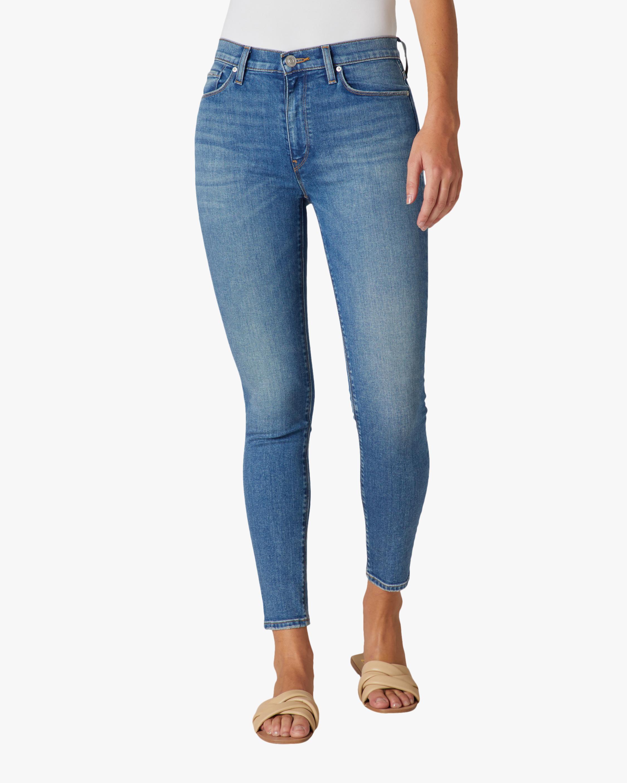 Hudson Barbara High-Rise Super Skinny Ankle Jeans 0
