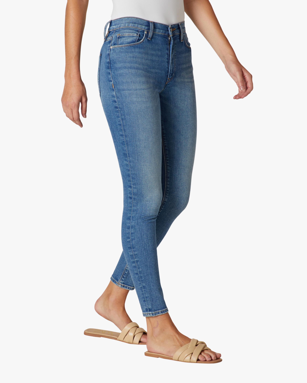 Hudson Barbara High-Rise Super Skinny Ankle Jeans 1