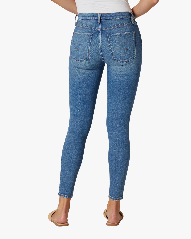 Hudson Barbara High-Rise Super Skinny Ankle Jeans 4