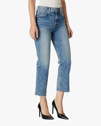 Hudson Remi High-Rise Straight Crop Jeans 2
