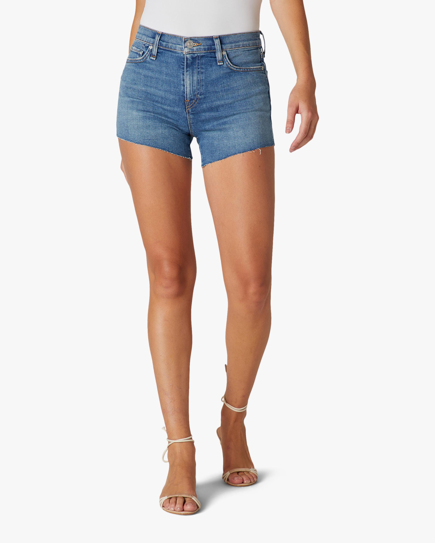 Hudson Gemma Mid-Rise Cutoff Shorts 0
