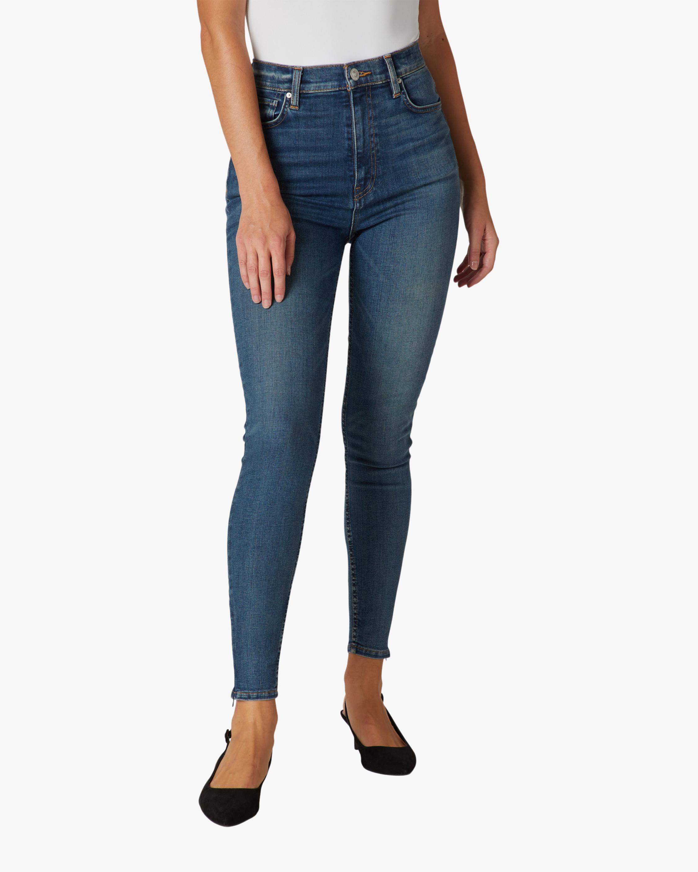 Hudson Centerfold Extreme High-Rise Super-Skinny Jeans 0