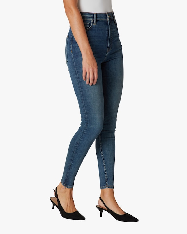 Hudson Centerfold Extreme High-Rise Super-Skinny Jeans 1