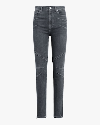 Hudson Centerfold Extreme High-Rise Super-Skinny Jeans 2