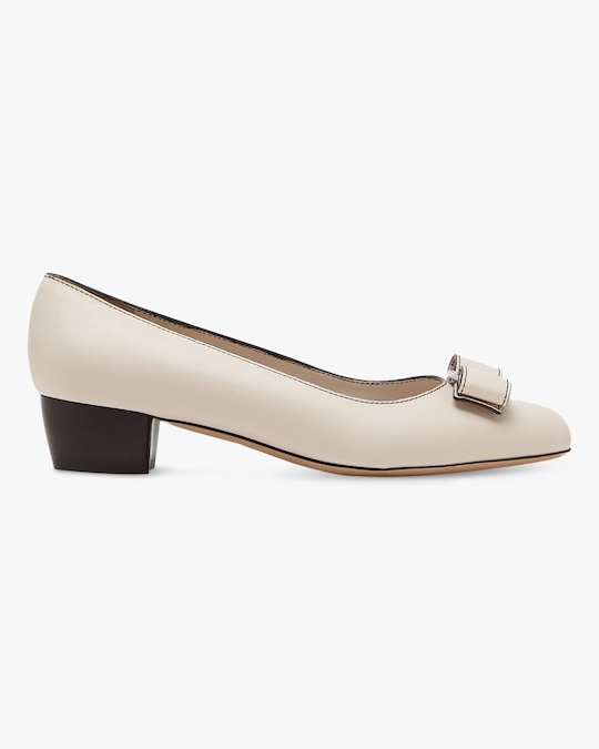 Salvatore Ferragamo Vara Stitch Pump 0