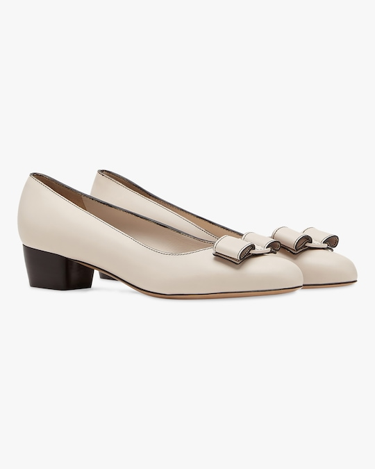 Salvatore Ferragamo Vara Stitch Pump 1