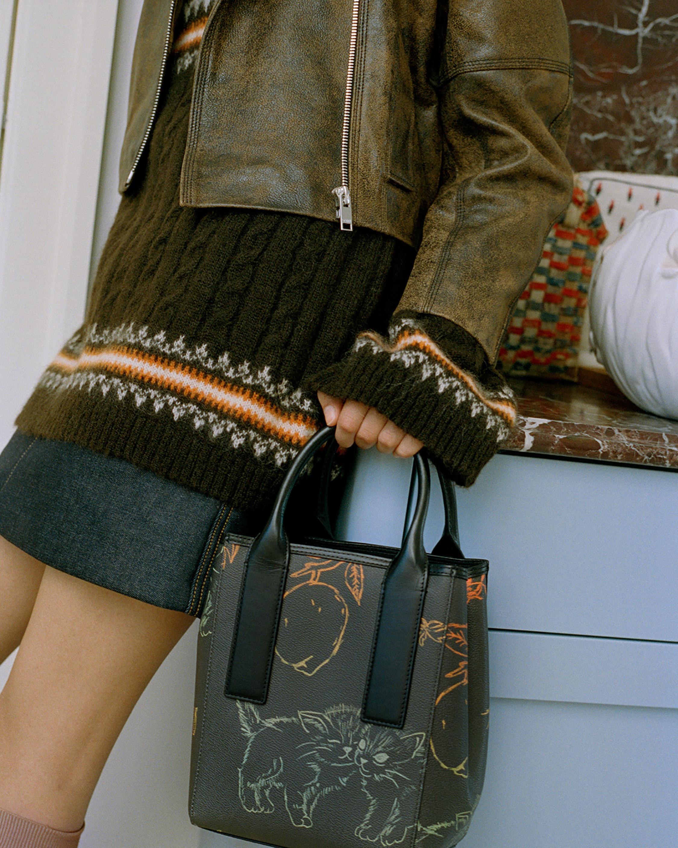 Ganni Fine Alpaca Knit Oversized Blouse 2