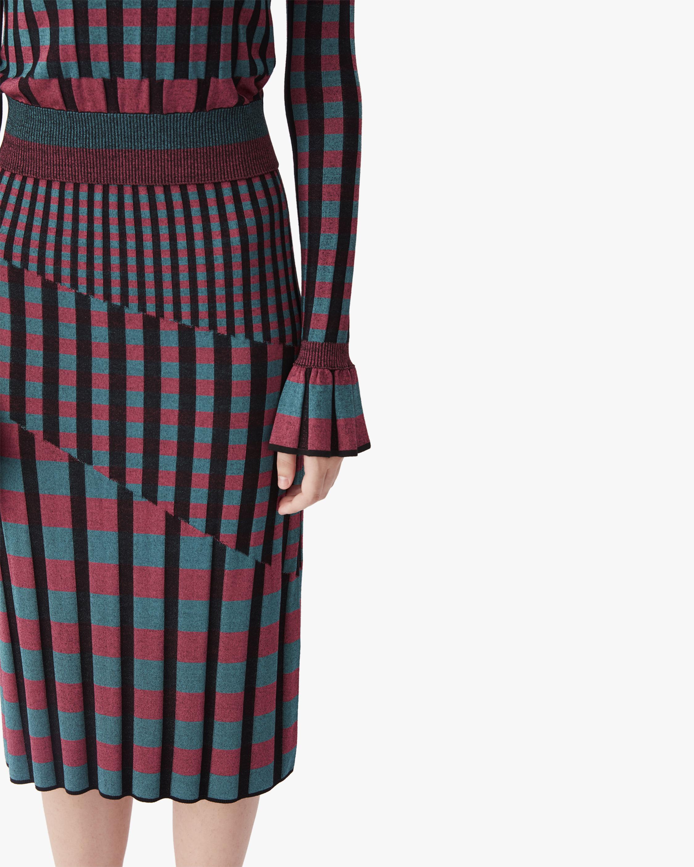 Diane von Furstenberg Rosa Knit Midi Skirt 4