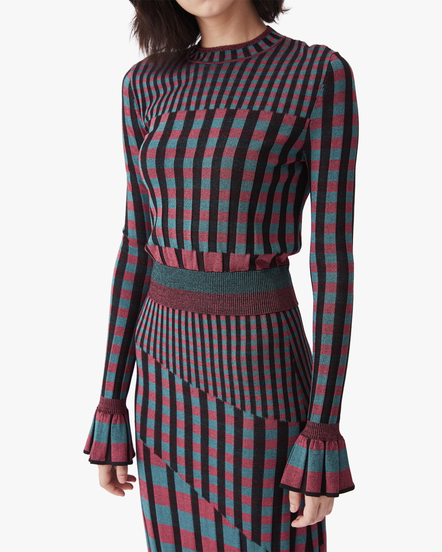 Diane von Furstenberg Clemment Knit Top 0