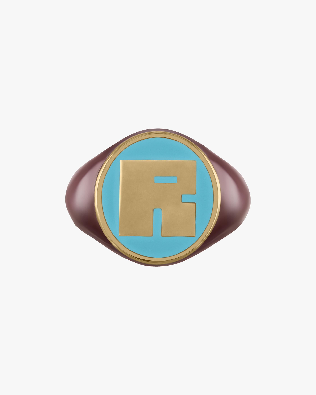 kWIT Pinky Square LetterBlock© Signet Ring 1