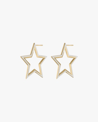 kWIT Star Hoop Earrings 2