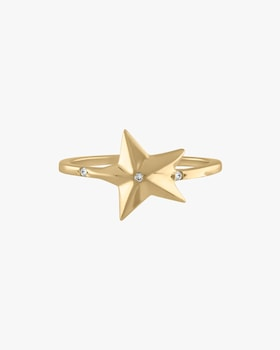 Twinkle Star Pinky Ring