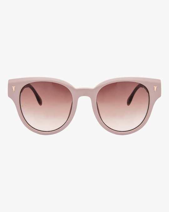 MITA Brickell Pink Cat-Eye Sunglasses 0