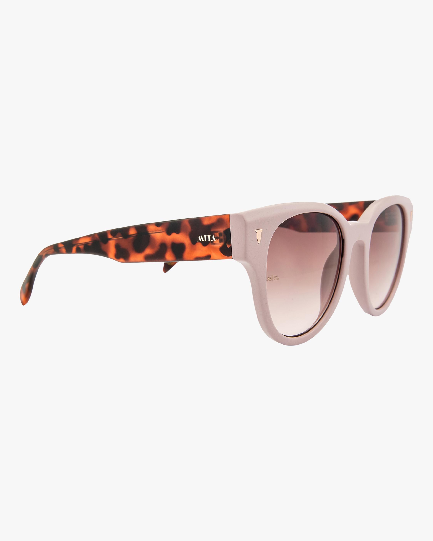 MITA Brickell Pink Cat-Eye Sunglasses 2