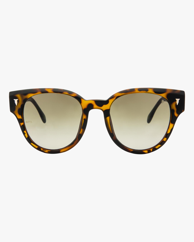 MITA Brickell Havana Cat-Eye Sunglasses 0