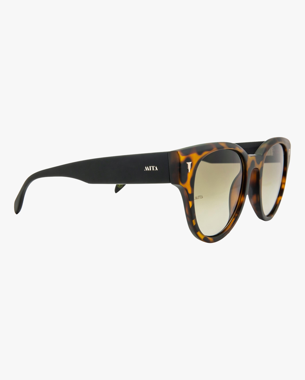 MITA Brickell Havana Cat-Eye Sunglasses 1
