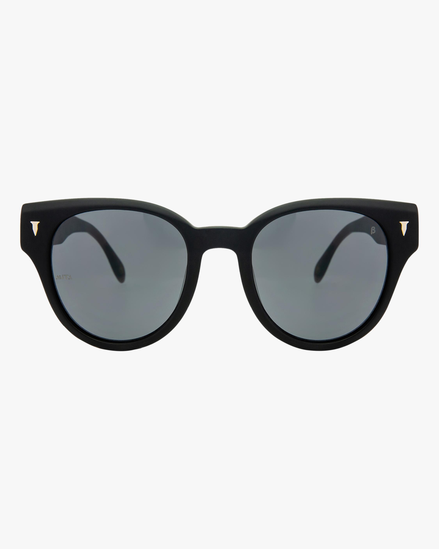 MITA Brickell Black Cat-Eye Sunglasses 1