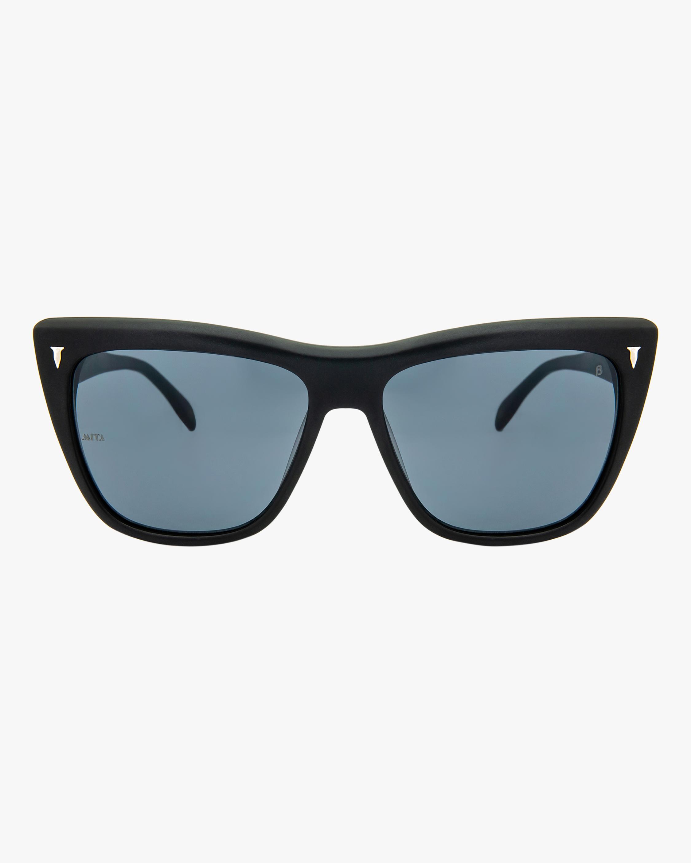 MITA Wynwood Black Cat-Eye Sunglasses 0