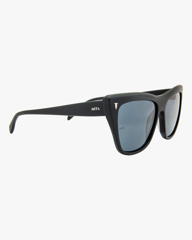 MITA Wynwood Black Cat-Eye Sunglasses 2