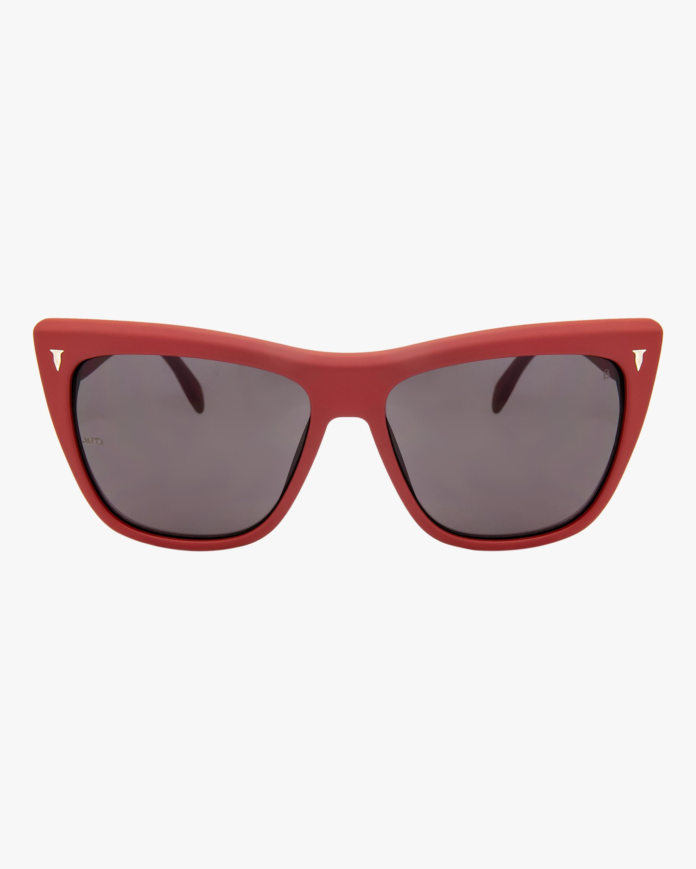 MITA Wynwood Red Cat-Eye Sunglasses 1