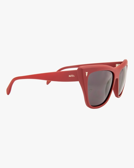 MITA Wynwood Red Cat-Eye Sunglasses 1