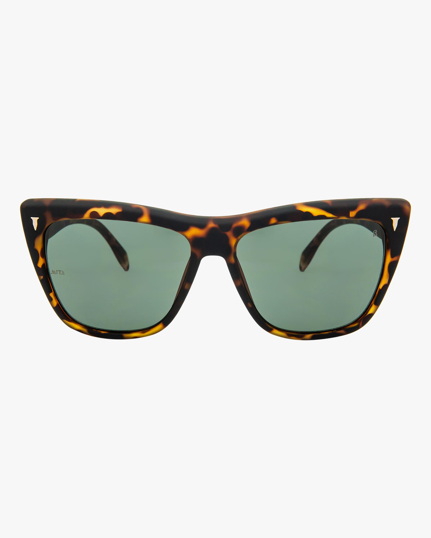MITA Wynwood Havana Cat-Eye Sunglasses 0