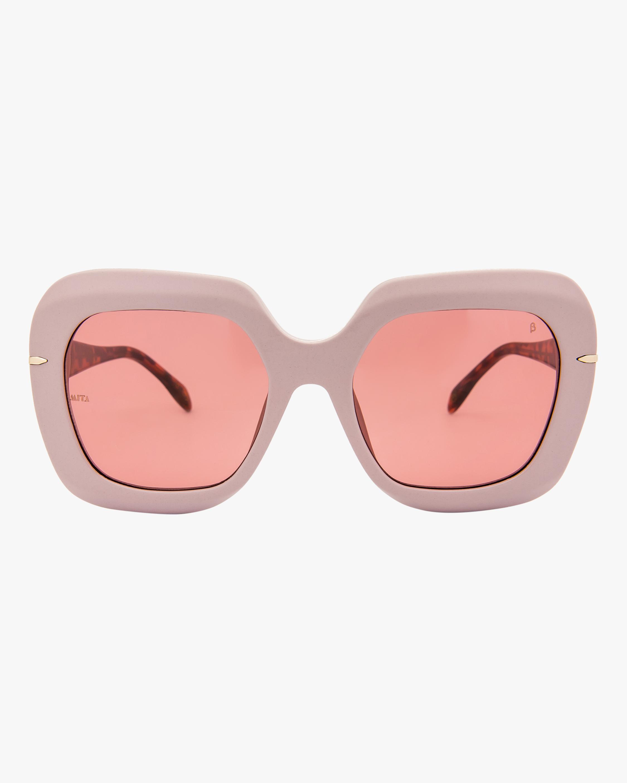 MITA Mare Pink Oversized Sunglasses 1
