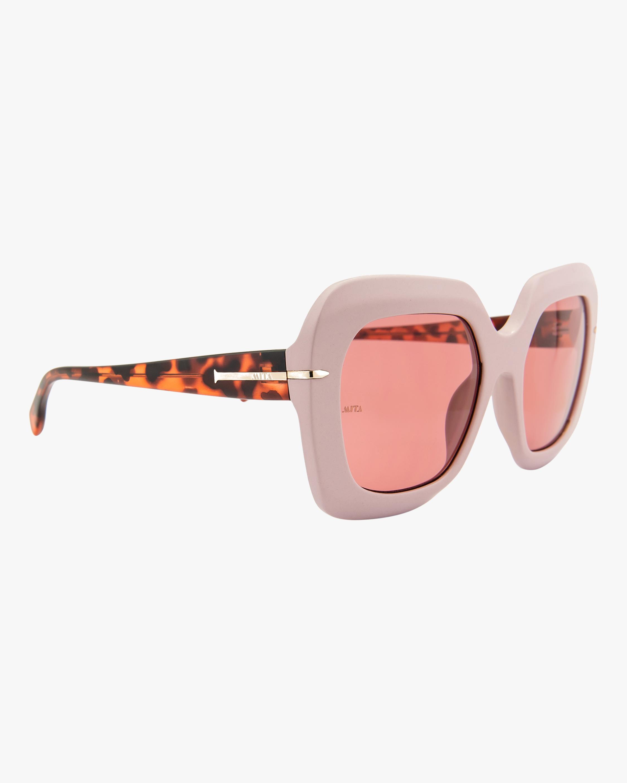MITA Mare Pink Oversized Sunglasses 2