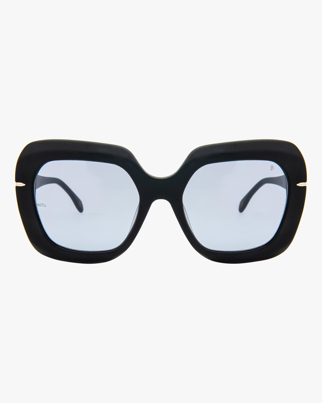 MITA Mare Black Oversized Sunglasses 0