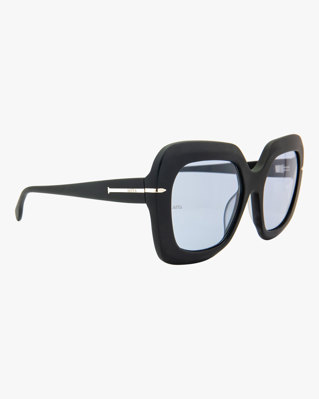 MITA Mare Black Oversized Sunglasses 1