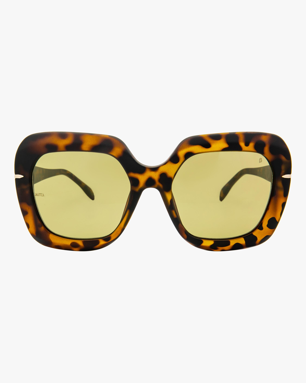 MITA Mare Havana Oversized Sunglasses 0